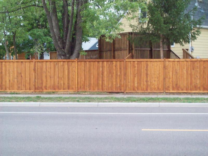 Blaine Mn Cedar Scalloped Picket Fence Gallery